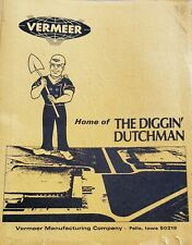 Vermeer The Digging Dutchman   Trenching Equipment Specifications Booklet
