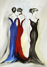 Athena Schenk elegance and fashion 1 Poster Art Print Picture 100x70cm-POSTAGE FREE