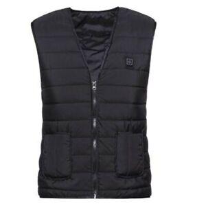 Heated Vest Winter Warm Infrared Electric USB Vests Men Women Smart Heating Coat