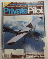 Private Pilot Magazine Porsche Cessna First January 1988  FAL 060515R2