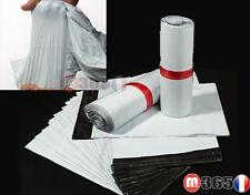 TVA enveloppe sac pochette sacoche plastique postal opaque emballage autocollant