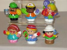 Lot 6 Fisher Price Little People Modern Chunky 1st Birthday Carnival Zoo