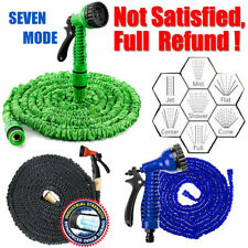 More details for expandable garden hose pipe spray gun flexible expanding stretch pipes 25f-200ft