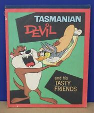 Vintage Warner Bros Tasmanian Devil & His Tasty Friends Note Pad Notebook