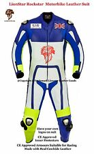 Lionstar Rockstar Motorbike Motorcycle Leather Racing Suit CE Approved Armours