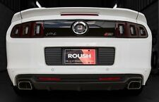 2013-2014 Mustang Roush Rear Lower Bumper Exhaust Valance Kit - Stage 3 Style