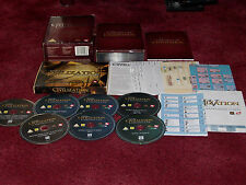Sid Meier's CIVILIZATION CHRONICLES Pc DVD Rom Collection & Card Game is Unused