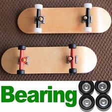 2X Bearing Wheels Wooden Maple Deck Fingerboard Skateboards 96mm XMAS GIFTS D48