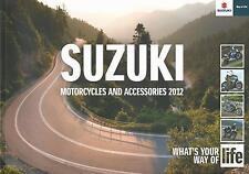 Suzuki Motorcyles UK Brochure 2012 GSX Hayabusa V-Strom GSR Bandit Gladius