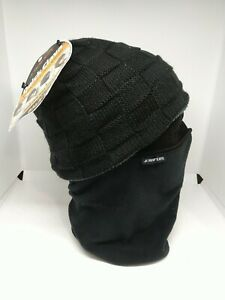 Seirus Combo Clava 3-n-1 Black Fleece Face Mask Baclava One Size