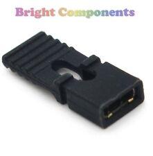 10x Black PCB/intestazione linguetta Maglione LINK 2.54mm - UK - 1st Class Post