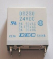NEW - DS2SU DEC 24VDC Replacement Speaker Protection Relay GOLD CONTACTS - NEW