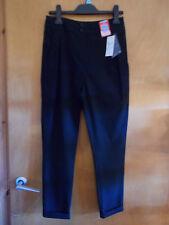 """M&S Senior Slim Leg Fashion School Trousers 12-13yrs W26"""" 158cm Black BNWT"""