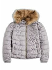 Manteaux, vestes et tenues de neige gris en polyester pour fille de 2 à 16 ans Hiver