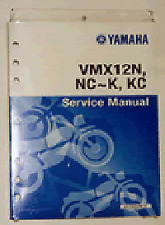 Yamaha V-Max 1200 Genuine Yamaha Workshop Manual