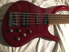 Michael Tobias MTD Kingston Heir 5 Electric Bass Guitar Flamed NICE