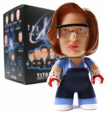 "Titans THE X-FILES Mini Series DANA SCULLY AUTOPSY VARIANT 1/40 Chase 3"" Figure"