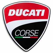 Ducati Corse Metal Schild 40x42 Cm 987691016