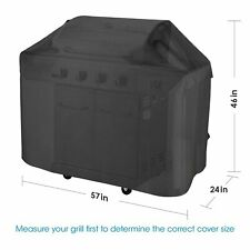Weber Bbq Texas Grill Cover Outdoor Cart-style Barbecue Heavy-Duty Waterproof 58