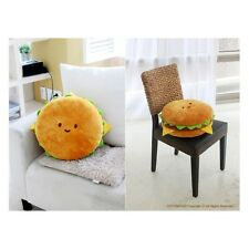 "Cotton Food Pillow Toy Doll Plush Bedding Car Cushion Hamburger 16"" Large"