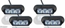 4 x Amber Strobe Flashing LED Lights Recovery Truck Breakdown Lorry Lamps