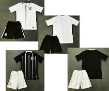 2017 2018 Corinthians home soccer kits men's football sets sports uniform jersey