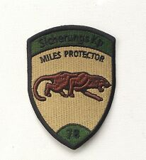 Sicherungs Kp 78 Miles protector Swiss Military Patch