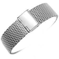 MILANESA SHARK MESH Correa Acero Inoxydable Stainless Band 22mm 22 mm Ajustable