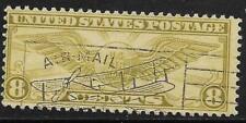 1v0281 Scott C17 US Air Mail Stamp 1932 8c Winged Globe Used Fancy Cancel
