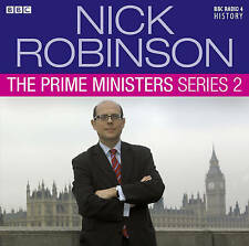 NICK ROBINSON - THE PRIME MINISTERS SERIES 2  -  BBC AUDIO BOOK - NEW/SEALED