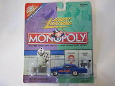 Johnny Lightning Monopoly Reading Railroad 1940 Ford & Game Token 1 64