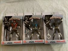 Power Rangers in Space Legacy Collection Psycho Rangers Red Blue Black