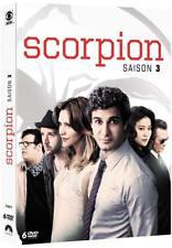 COFFRET DVD SCORPION SAISON 3 Neuf Sous Blister