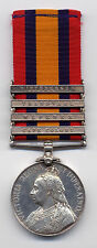British Victorian - QSA Medal - Wepener, Wittebergen, CC and Transvaal Clasps