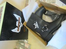 ROADKROME FUEL SQUARE TOE CIVIL WAR STYLE HARNESS MOTORCYCLE BOOTS - MEN SIZE 11