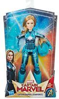 Disney Marvel Captain Marvel Starforce Doll Action Figure with Helmet Avengers