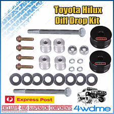 "Toyota Hilux N70 KUN26 Front Direct Bolt In Diff Drop Kit suits STD 2"" - 3"" Lift"