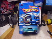 Hot Wheels Collector #2005-100 Tail Dragger Turquios with 5 Spoke Wheels