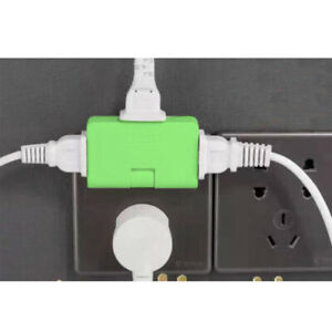 Rotatable Socket Converter 180 Degree Extension Multi Plug Outlet Adapter MN