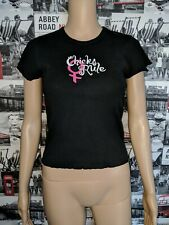 DIXIE CHICKS / CHICKS RULE T-SHIRT - SIZE M - ROCK CHICK, ROCK'N'ROLL, COUNTRY