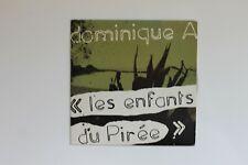 DOMINIQUE A : LES ENFANTS DU PIREE (REMIX) ♦ Promo CD Single ♦