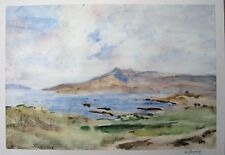 Vernon wethered (1865–1952). Acuarela Paisaje Glengarriff Irlanda. Slade.