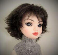 Monique Roxie Wig 6/7 for BJD Little Fee Miniofee Ellowyne BID KID YoSD Black