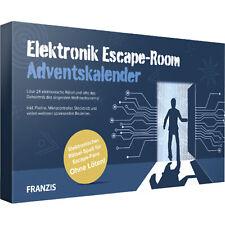 Franzis Elektronik Escape-Room Adventskalender, Experimentierkasten