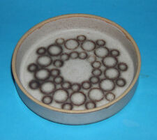 Studio Pottery - A Quality Attractive Abstract Design Pin Dish (Decorated Base).