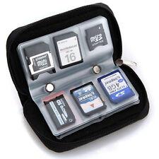 1* Bolsa Caja Estuche Almacenamiento 22 Tarjetas Memoria SDHC XD Micro SD /gg