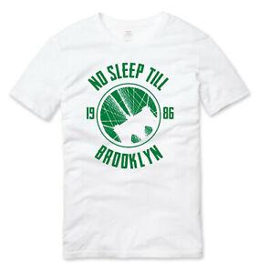 Beastie Boys No Sleep Till Brooklyn Old School Hip Hop T Shirt White