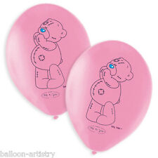 6 Me To You Cute Pink Tatty Teddy Party Printed Latex Balloons