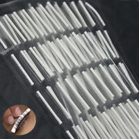 NEW 160 Pcs SMALL Rods False Eyelash Perming Curlers Curling Perm Sticky Set