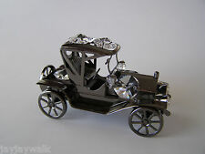 "SWAROVSKI CRYSTAL ELEMENTS ""MODEL T CAR"" FIGURINE-ORNAMENT METALLIC BLACK"